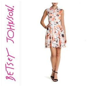 BETSEY JOHNSON SHRIT DRESS SIZE 10